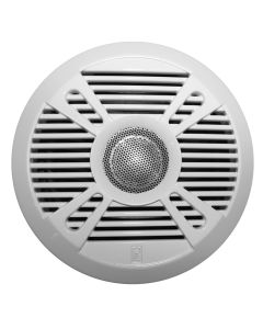 "Poly-Planar MA7050 5"" 2-Way Marine Speaker w/2 Grills - White & Graphite"