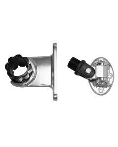 "Rupp Standard Antenna Mount Support w/4-Way Base & 1.5"" Collar"