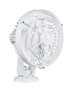 """Caframo Kona 817 12V 3-Speed 7"""" Waterproof Fan - White"""