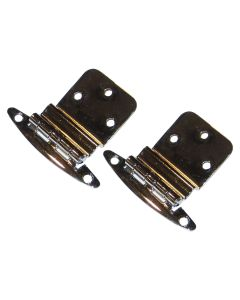 """Perko Chrome Plated Brass 3/8"""" Inset Hinges"""