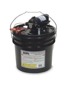 SHURFLO Oil Change Pump w/3.5 Gallon Bucket - 12 VDC, 1.5 GPM