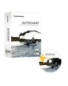 Humminbird Autochart DVD PC Mapping Software w/Zero Lines Map Card