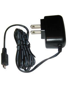 Icom USB Charger w/US Style Plug - 110-240V