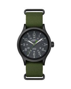 Timex Expedition Scout Slip-Thru Watch - Green