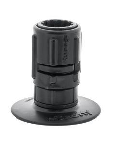 "Scotty 448 Stick-On Mount w/Gear-Head Adapter - 3"" Pad"