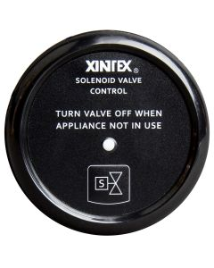 Xintex Propane Control & Solenoid Valve w/Black Bezel Display