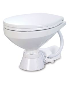 Jabsco Electric Marine Toilet - Regular Bowl w/Soft Close Lid - 24V