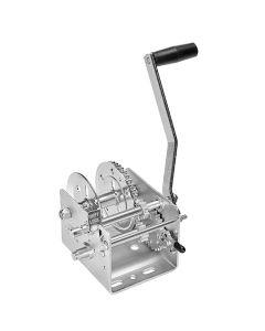 Fulton 2000lb 2-Speed Winch - Strap Not Included