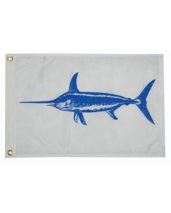 "Taylor Made 12"" x 18"" Swordfish Flag"