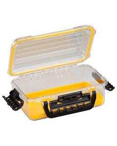 Plano Waterproof Polycarbonate Storage Box - 3600 Size - Yellow/Clear