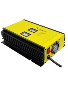 Samlex 80A Battery Charger - 12V - 2-Bank - 3-Stage w/Dip Switch & Lugs - Includes Temp Sensor