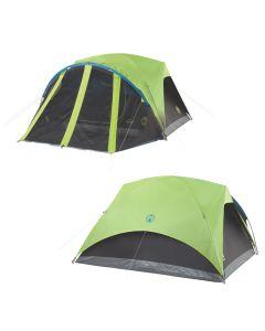 Coleman Carlsbad 4-Person Darkroom Tent w/Screen Room