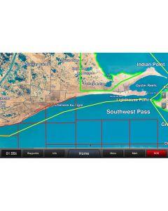 Garmin Standard Mapping - Louisiana West Premium microSD/SDCard