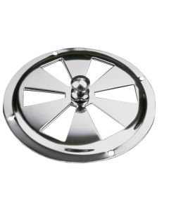 """Sea-Dog Stainless Steel Butterfly Vent - Center Knob - 5"""""""