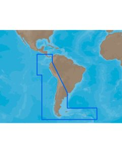 C-MAP MAX SA-M500 - Costa Rica-Chile Falklands - SD Card
