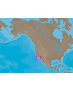 C-MAP NT+ NA-C605 - San Diego-Point Conception: Bathy - Furuno FP-Card