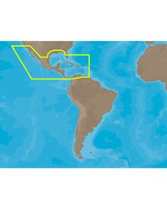 C-MAP MAX NA-M027 - Central America & The Caribbean - SDCard