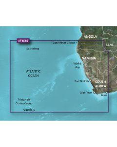 Garmin BlueChart g2 Vision HD - VAF451S - Namibia - Knysna, SA - microSD/SD