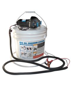 Jabsco DIY Oil Change System w/Pump & 3.5 Gallon Bucket