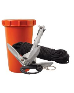 Scotty Anchor Kit - 1.5lbs Anchor & 50' Nylon Line