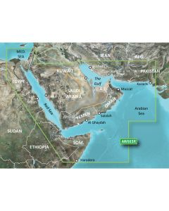 Garmin BlueChart g2 HD - HAW005R - The Gulf & Red Sea - microSD/SD