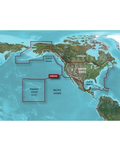 Garmin BlueChart g3 HD - HXUS604x - US All & Canadian West - microSD/SD