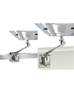 Magma Square/Flat Rail Mount or Side Bulkhead Mount f/Kettle Series Grills