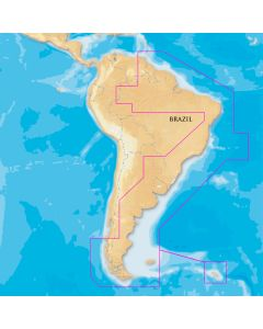 Navionics Platinum+- South America East - microSD/SD