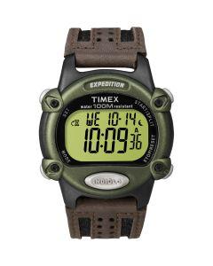 Timex Expedition Men's Chrono Alarm Timer - Green/Black/Brown