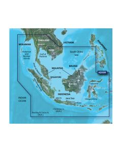 Garmin BlueChart g2 HD - HXAE009R - Singapore / Malaysia / Indonesia - microSD/ SD