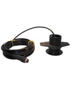 SI-TEX 120kHz Lexan Low-Profile Thru-Hull Transducer f/SDD-110