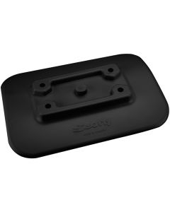 Scotty 341-BK Glue-On Mount Pad f/Inflatable Boats - Black