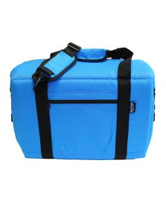 NorChill 12 Can Soft Sided Hot/Cold Cooler Bag - Blue