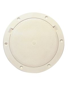 "Beckson 8"" Non-Skid Pry-Out Deck Plate - Beige"