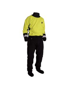 Mustang Water Rescue Dry Suit - XL - Yellow/Black
