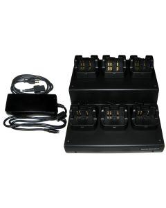 Standard Horizon 6 Unit Multi Charger Dock - 110V