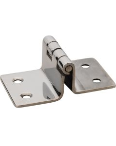 "Whitecap Folding Seat Hinge - 304 Stainless Steel - 2"" x 3-3/16"""