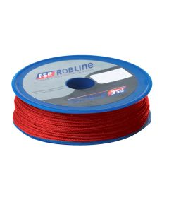Robline Waxed Tackle Yarn Whipping Twine - Red - 0.8mm x 80M