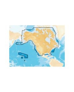 Navionics+ Preloaded Chart of All USA/Canada -Marine & Lakes- microSD