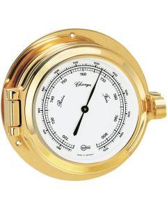 "BARIGO Poseidon Series Porthole Ship's Barometer - Brass Housing - 3.3"" Dial"