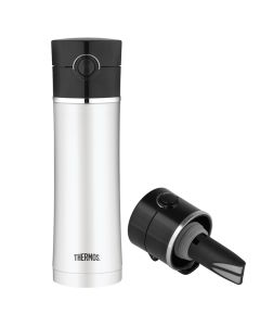 Thermos Stainless Steel, Vacuum Insulated Drink Bottle w/Tea Infuser - 16 oz.