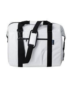 NorChill BoatBagLarge 48-Can Marine Cooler Bag - White Tarpaulin