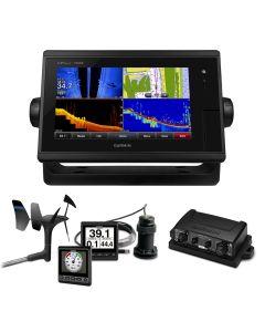 Garmin GPSMAP 7608 Sail Plus Pack w/Wind, Depth & Speed Bundle w/GNX20
