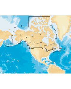 Navionics Navionics+ Regions - Canada & Alaska - Preloaded MSD Format