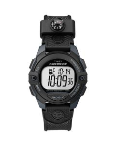 Timex Expedition Chrono/Alarm/Timer Watch - Black