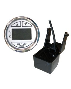 "Faria Chesapeake SS White 2"" Depth Sounder w/Transom Mount Transducer"