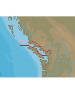 C-MAP NT+ NA-C711 Point Roberts to Cape Scott - FP-Card Format