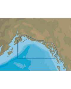 C-MAP NT+ NA-C811 Chatham Strait to Prince William Sound - FP-Card Format
