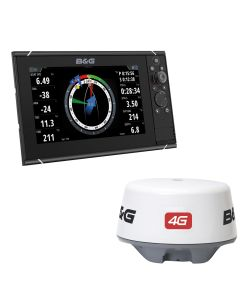 "B&G Zeus3 9"" Multifunction Display & 4G Radar Bundle"