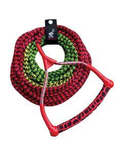 AIRHEAD Radius Handle Ski Rope - 3 Section - 45', 60' or 75'